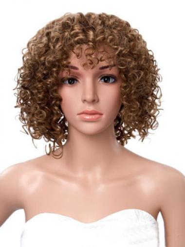 """12"""" Brown Lace Front Wigs For Black Women"""