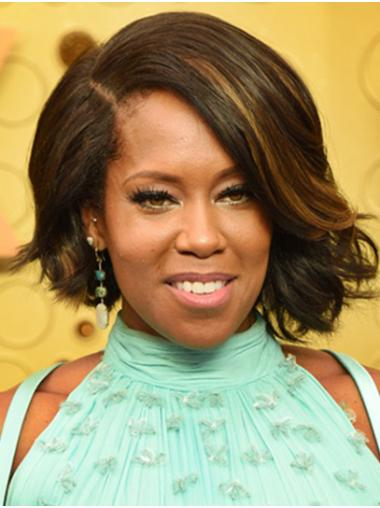 Ombre/2 Tone Soft Lace Front Chin Length Bobs Regina King Wigs