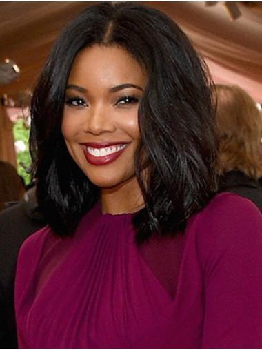 Black Amazing Lace Front Shoulder Length Bobs Gabrielle Union Wigs