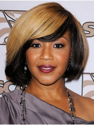 Ombre/2 Tone Fashion Capless Chin Length Bobs Erica Campbell Wigs