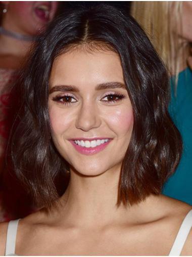 Brown Fashion Full Lace Chin Length Bobs Nina Dobrev Wigs