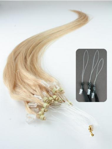 Ideal Blonde Straight Micro Loop Ring Hair Extensions