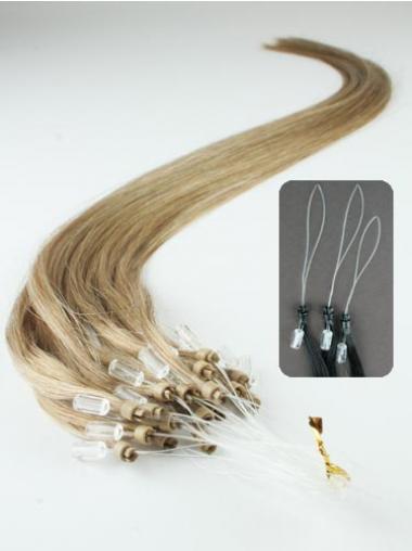 Good Blonde Straight Micro Loop Ring Hair Extensions