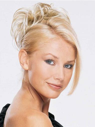 Blonde Hair Pieces Buns