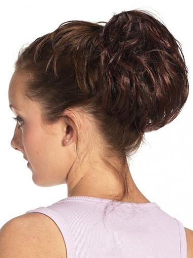 Auburn Hair Bun Pieces
