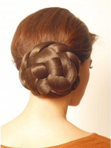 Brown Hair Pieces Bun