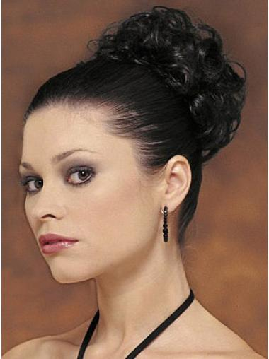 Black Big Bun Hair Piece