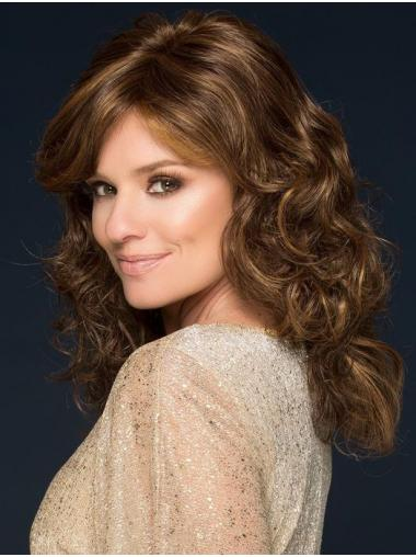 Long Good Synthetic Monofilament Curly Classis Wigs