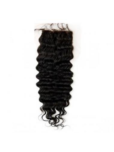 Sleek Black Long Wavy Lace Closures