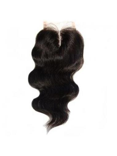 High Quality Black Long Wavy Lace Closures