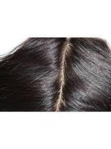 Durable Black Long Wavy Lace Closures