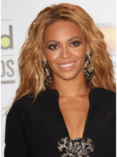 """Long Wavy Without Bangs Capless 21"""" New Beyonce Wigs"""
