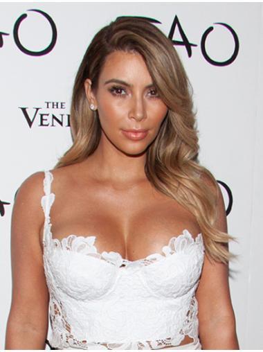 """Flexibility Blonde Long Wavy 18"""" Layered Kim Kardashian Wigs"""