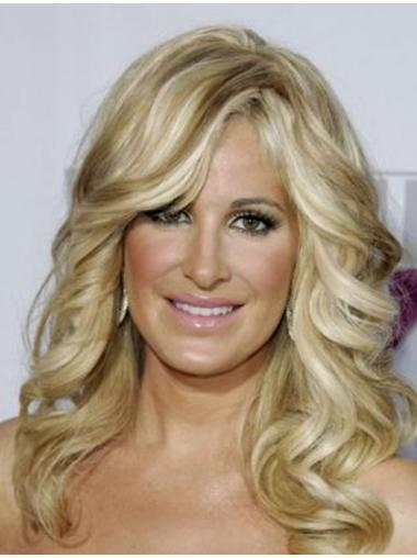 Kim Zolciak Wigs For Sale With Capless Long Length Blonde Color
