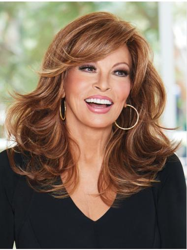 Layered Designed Wavy Blonde Long High Quality Wigs