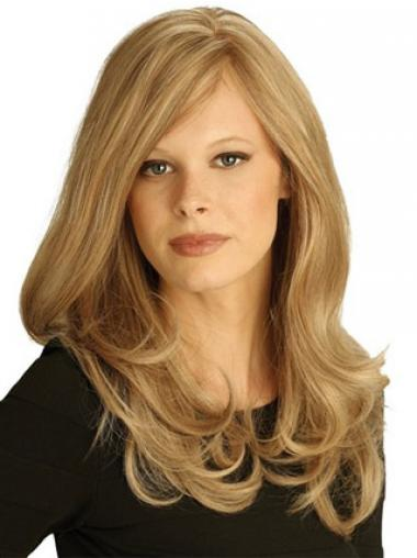 Wavy Human Lace Wigs UK 100% Hand Tied Layered Cut