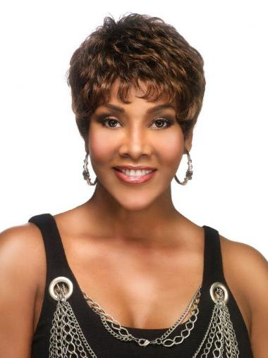 African American Wigs For Women With Lace Front Short Length