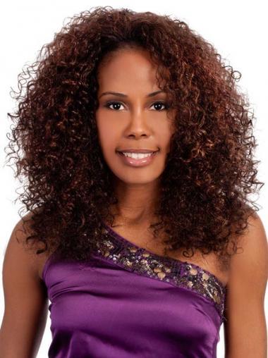African Wigs Online Auburn Color Shoulder Length Kinky Style