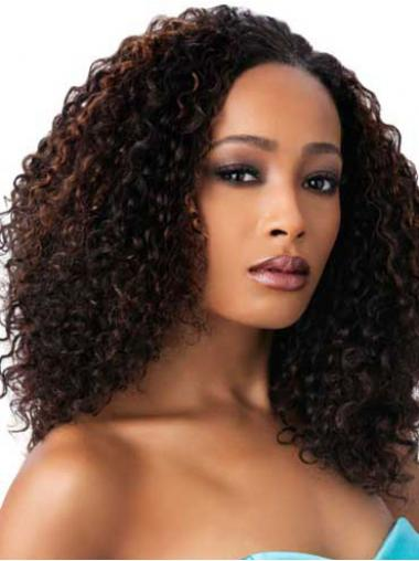 African Wigs For Sale With Capless Synthetic Brown Color Kinky Style