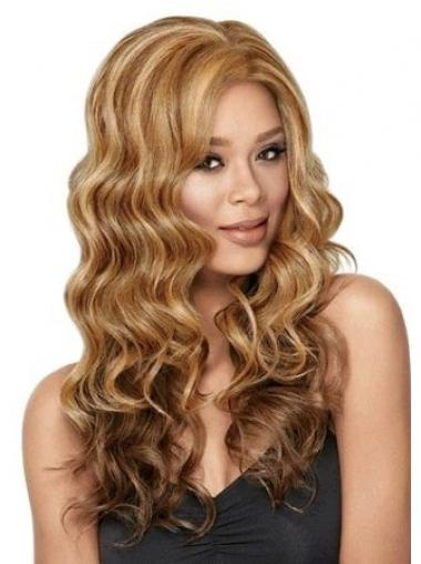 "Best Long Wavy 26"" Synthetic Glueless Lace Front Wigs"