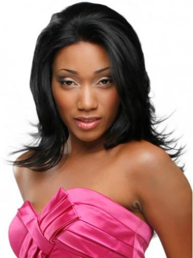 "Beautiful Long Wavy 20"" Synthetic Glueless Lace Front Wigs"