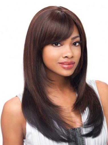 Yaki Layered Long Auburn Cheap Lace Front Wigs