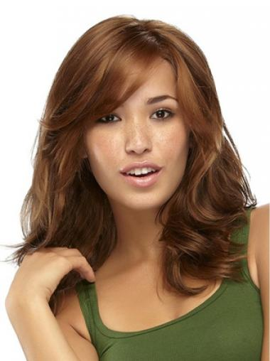 Realistic Synthetic Wigs With Capless Wavy Style Long Length