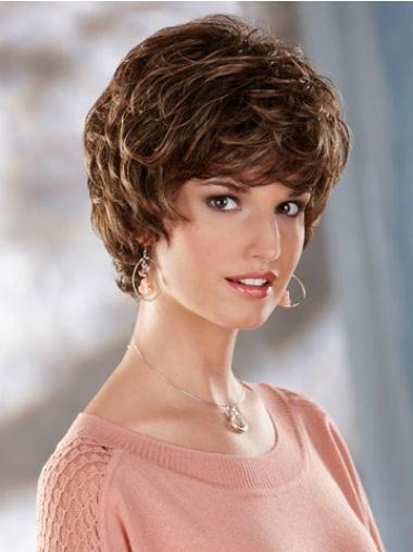 Wavy Brown Online Short Classic Wigs