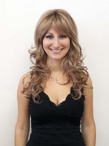 Wavy Layered Long Blonde New Lace Front Wigs