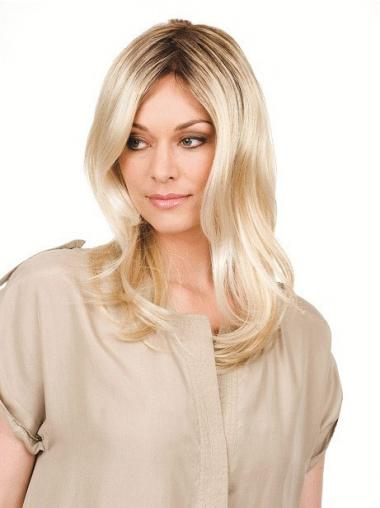 Wavy Without Bangs Long Blonde Perfect Wigs