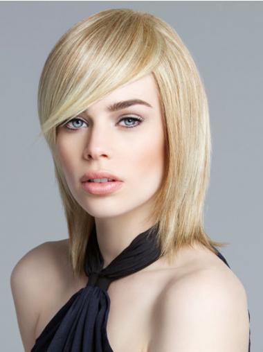 Lace Front Chin Length Straight Blonde New Bob Wigs