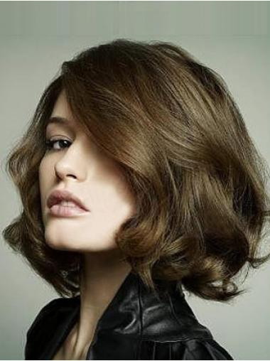 Bob Wigs Human Hair With Lace Front Chin Length Bobs Cut