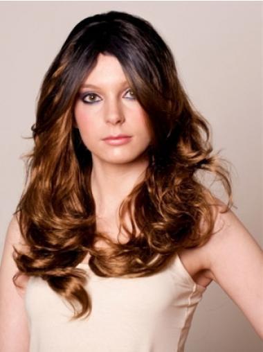 "Wavy Lace Front 20"" Great Long Celebrity Wigs"