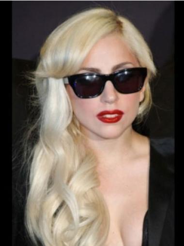 "16"" Good Long Wavy With Bangs Lady Gaga Wigs"