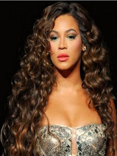 Brazilian Capless Curly Long Auburn Beyonce Curli Remi Hair