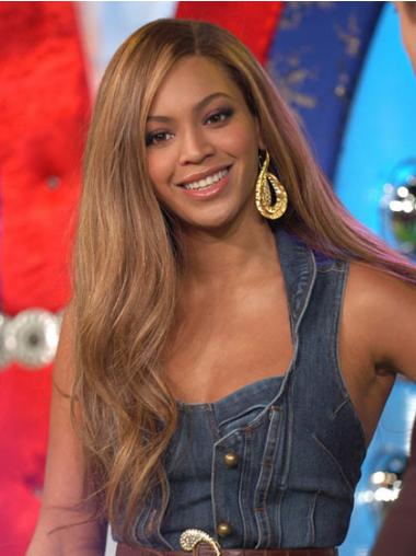 "Brazilian Lace Front Long Wavy Brown 22"" Beyonce Wigs UK"