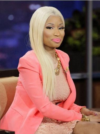 """22"""" Blonde Straight Without Bangs Long Good Nicki Minaj Wigs"""
