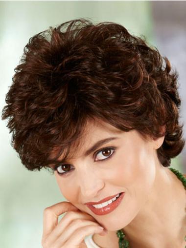 Curly Auburn Exquisite Short Classic Style