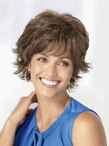 Wavy Brown Perfect Short Classic Wigs