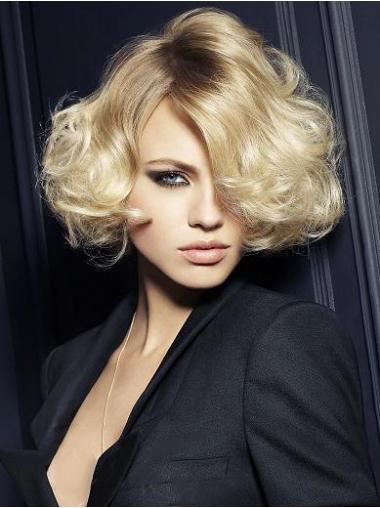 Hair Wigs UK With Capless Synthetic Layered Cut Chin Length