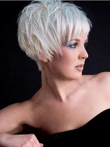 Synthetic Hair Wigs With Capless Short Length Boycuts