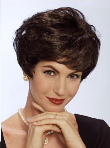 Straight Brown Fashionable Short Classic Wigs