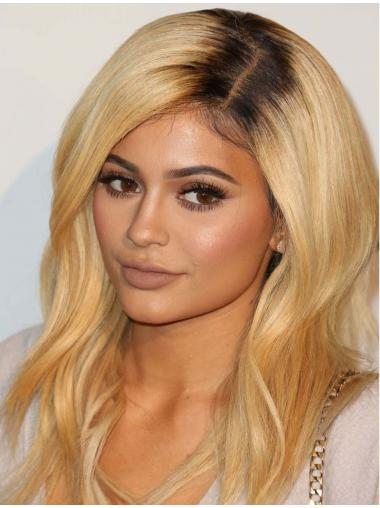 "Cheapest 14"" Long Wavy Layered Capless Kylie Jenner Wigs"
