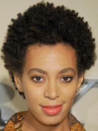 African Hairstyles For Women Remy Human Kinky Style