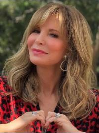 """Shoulder Length Capless 14"""" Blonde Best Synthetic Jaclyn Smith Wigs"""