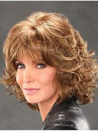 """Chin Length Capless 12"""" Blonde Affordable Synthetic Jaclyn Smith Wigs"""
