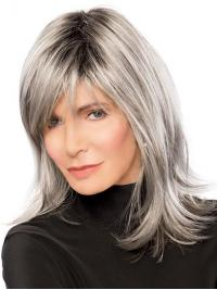 "Shoulder Length Lace Front 14"" Ombre/2 Tone Amazing Synthetic Jaclyn Smith Wigs"