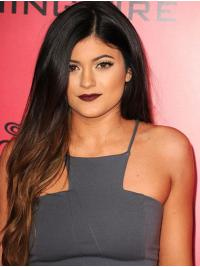 """Long Full Lace 26"""" Ombre/2 Tone Perfect Synthetic Kylie Jenner Wigs"""