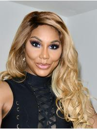 """Curly Ombre/2 Tone Long 24"""" Synthetic Fashion Toni Braxton Wigs"""