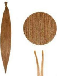 Auburn Straight Stick/I Tip Hair Extensions